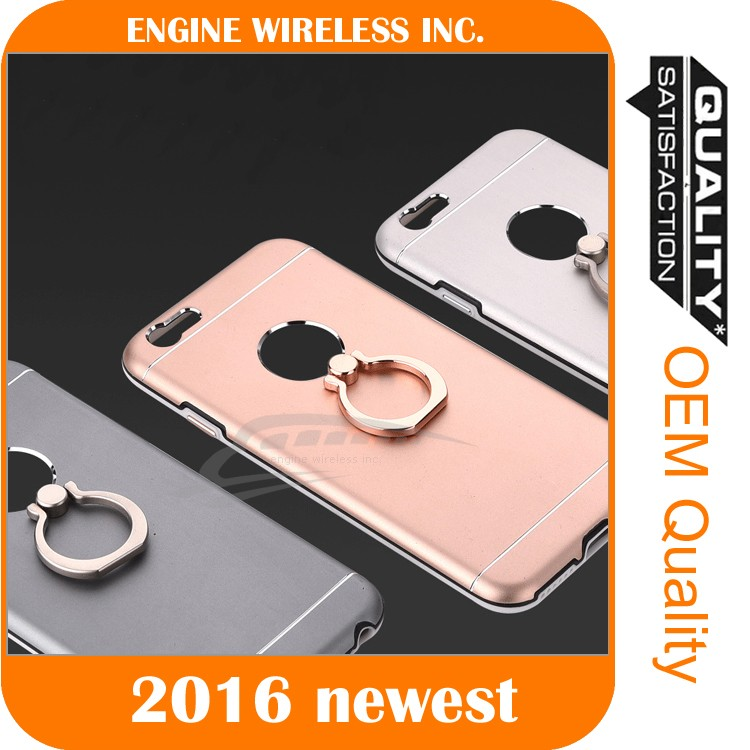 mobile phone set finger ring for iphone 6 case, for iphone shell