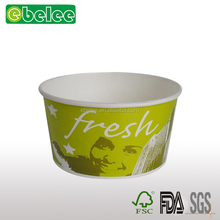 Disposable fast food restaurant food container/paper soup bowl