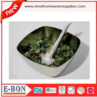 new style stainless steel fruit salad bowl for 2015
