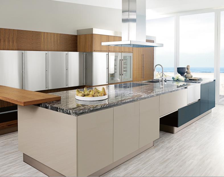 Hochglanz angepasste moderne kuchenschrank schranke for Küchenschrank hochglanz