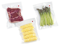 Embossed vacuum sealer bags and rolls plastic bag for food