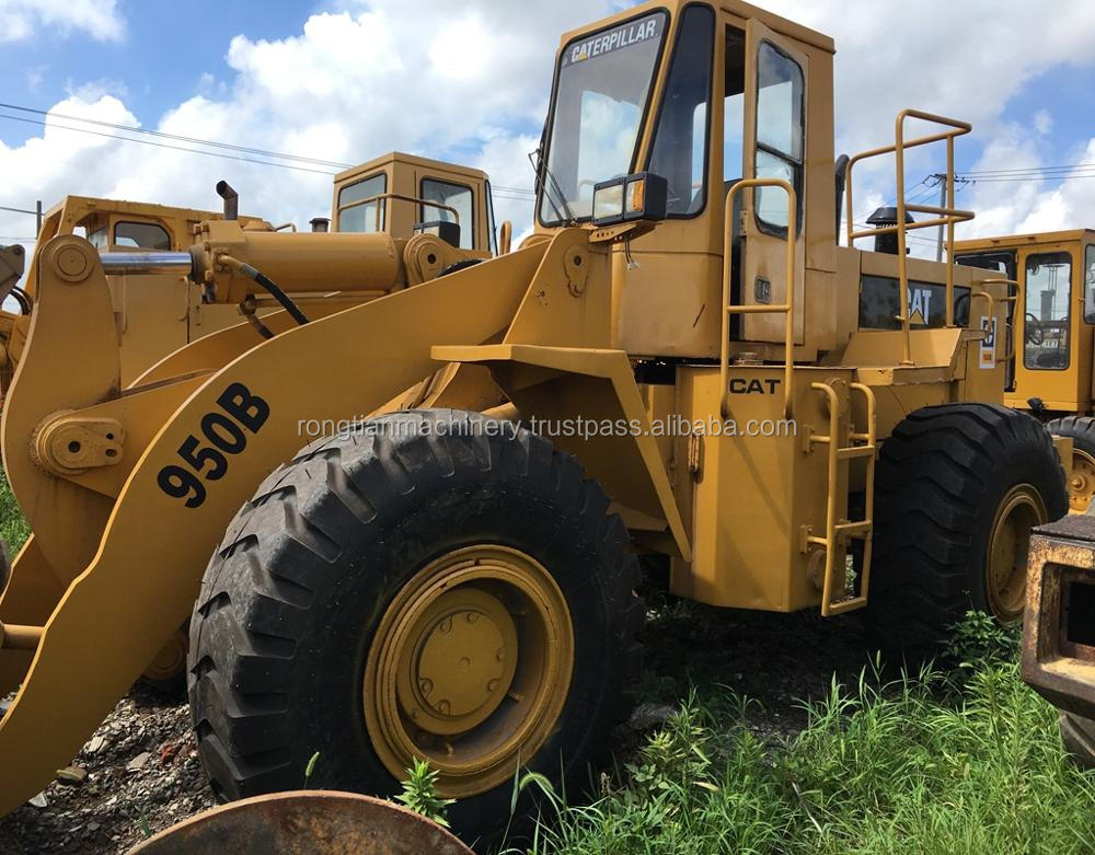 Good quality used caterpillar wheel loader 950B for sale/ cat loader with low price