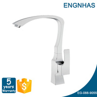 Spring pull out faucets wall mounted kitchen sink faucet