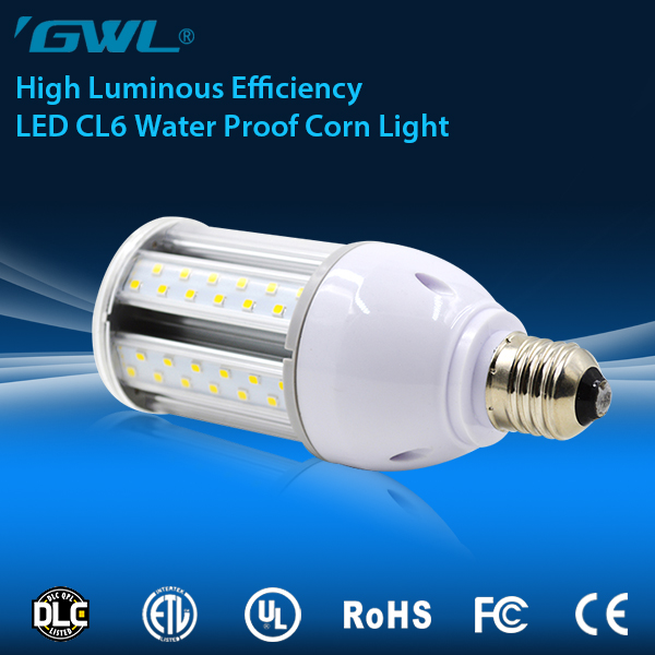 ul approved 6600LM SMD 2835 ip64 waterproof 360 degree led corn light 60w