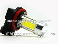 Super brightness DC 12-24V 16W LED bulb for auto fog light best chips 5 sides lighting