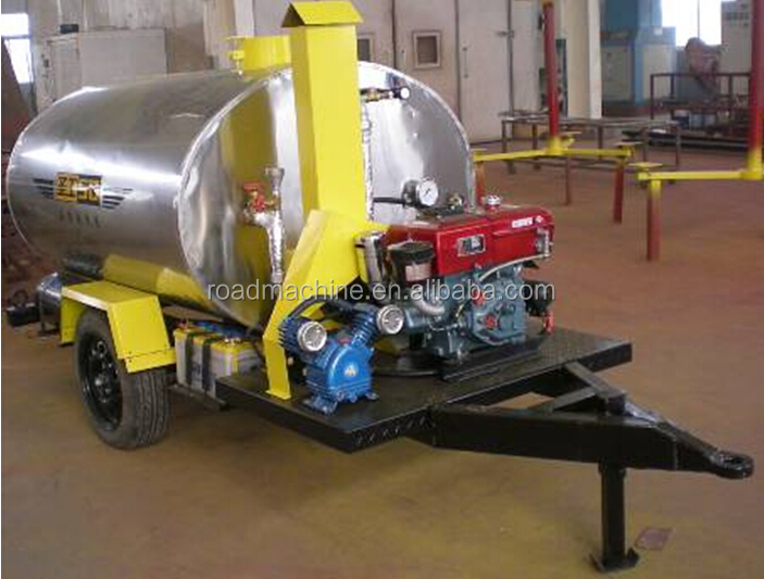 1Ton mini bitumen sprayer asphalt distributor for sale
