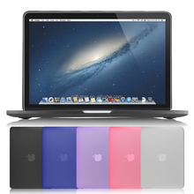 "Fancy Lightweight Translucent PC Plastic Laptop Hard Shell Case for Macbook 11""-15"" , Laptop Back Cover for Macbook"