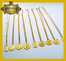 High quality china factory cheap fashion style POP souvenirs design accessories necklace