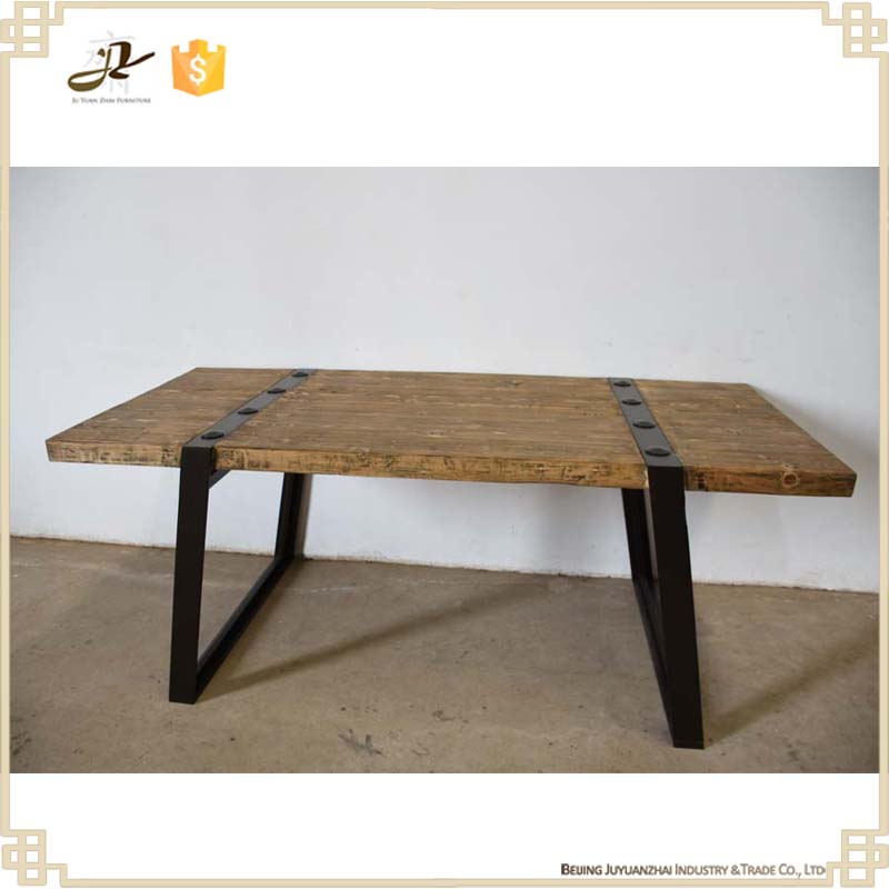 List manufacturers of industrial furniture dining table for Reclaimed wood manufacturers