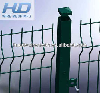 Welded mesh fence panel/metal fence panels/fence nylofor 3D