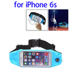 Honest Supplier Waist Bag Nylon and PVC for iPhone 6s Waterproof Pouch with Earphone Hole