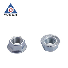 Customized White Blue Zinc Plated Carbon Steel Hex Nut
