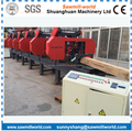 Multiple Heads Bandsaw Horizontal Band Sawmill For Wood Cutting