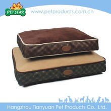 Check Print Orthopedic Royal Comfortable Dog Bed Luxury