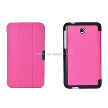High quality flip PU leather smart cover case for asus padfone s