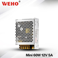WEHO mini-size 60w 12V power supply ac to dc MS-60-12 psu