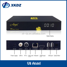 V8 Angel DVB-S2&T2/C Amlogic S805 TV BOX with Tuner 1GB 8GB OTT IPTV Online Satellite Terrestrial Combo Receiver