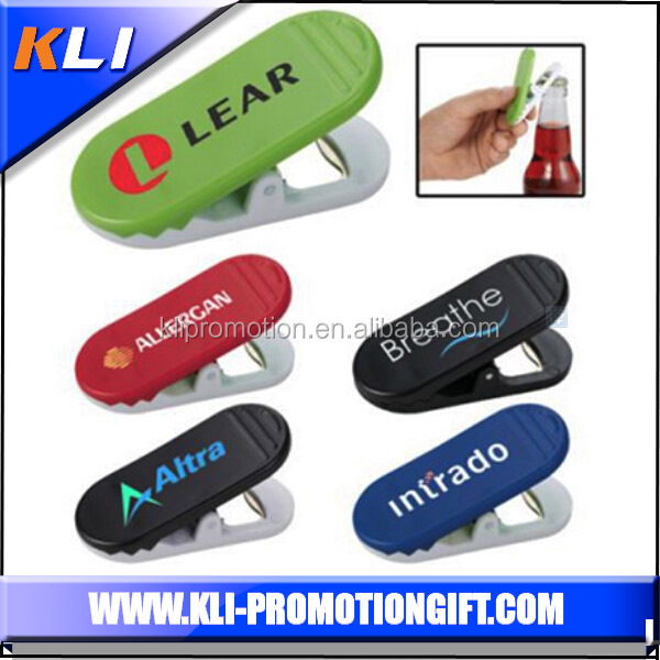 Promotional Magnet Clip with bottle opener