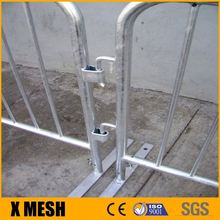 pedestian barriers / crowd control fencing / loose leg safety fencing, heras style
