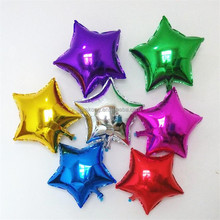 wholesale cheap Wedding decorate balloon inflatable foil balloon with star heat and number