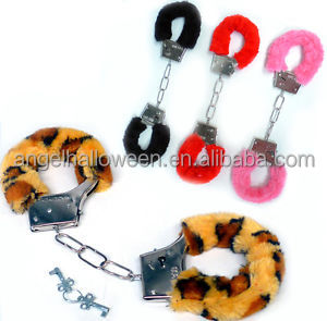 Multi Top Quality Fashion Sex Product Toy Metal Furry Handcuff Toy SH4027