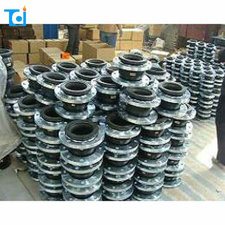 Custom made rubber pipe bellows expansion joint