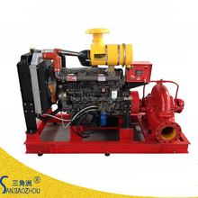 flow 100 l/s lift head 32m fire fighting diesel engine pump quick delivery
