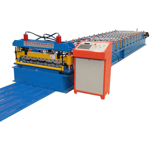 automatic cold aluminum steel sheet roll forming building machine