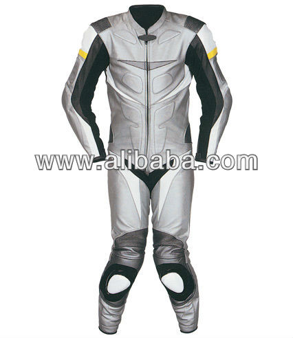 3001 Leather Motorbike Suit, Biker Motorcycle Suit