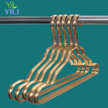 High quality Aluminium golden color metal clothes hanger clothes drying rack laundry rack