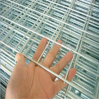 sell at a low price 2x2 galvanized welded wire mesh
