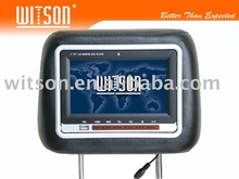 "Headrest DVD WITSON 7"" Player with USB port/SD card slot"