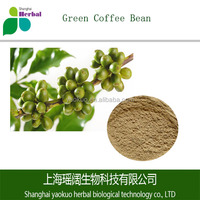 Top quality green coffee bean 100% extract powder