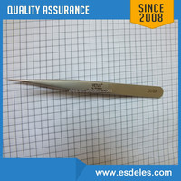 stainless steel tweezers with color print