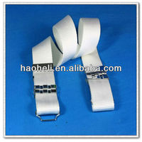 57mm white military belt made of nylon webbing,military police belt