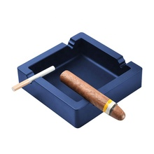 Unbreakable Large Size Square Silicone Ashtray Cigars Ashtray for Outside/Indoor Ashtray Home Decoration