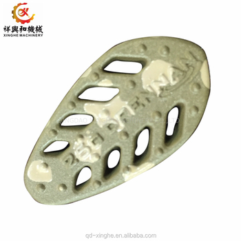 Custom china products zamak 5 zamak die casting with black powder coating
