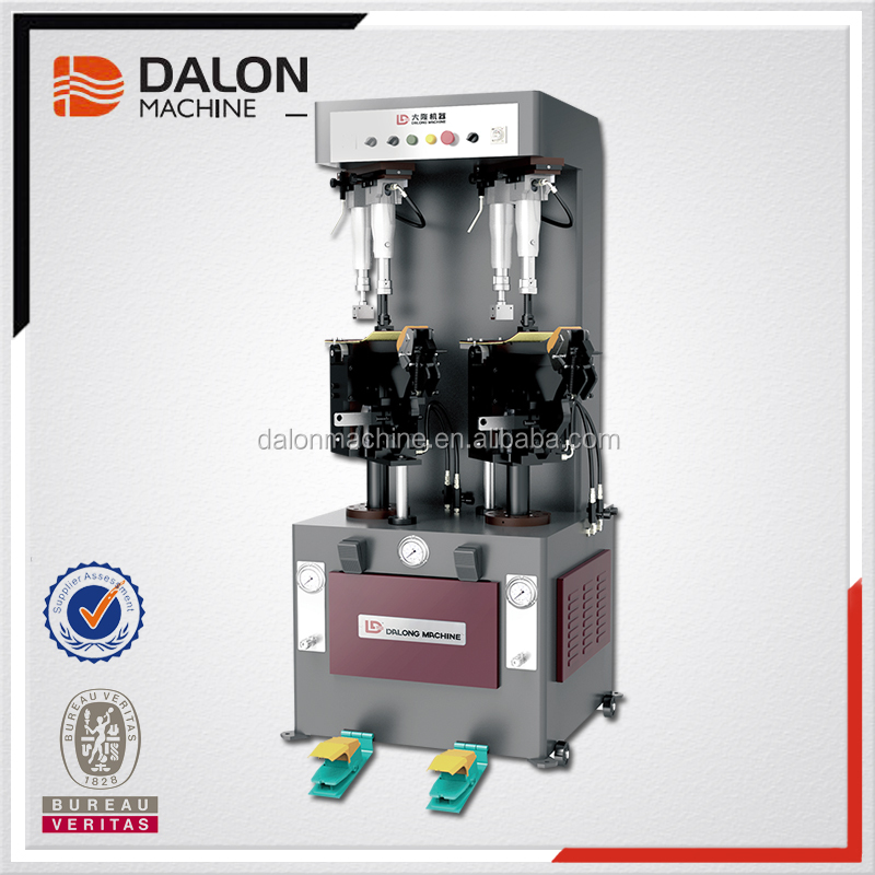 Dalong LD-685A shoes universal hydraulic sole attaching machine shoes pressing making machine