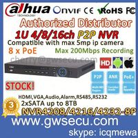 entry level 4ch cctv dvr kit 8/16/32CH full hd 1080p 1U 8PoE Network Video Recorder NVR4216-P security camera system