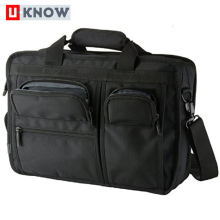 Hot selling 1680 denier fabric fashion messenger multipurpose laptop bag