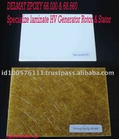 Indonesia High Voltage System Specialize Laminate HV Generator Rotor&Staor Delmat Epoxy Glass Laminated Sheet