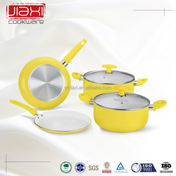 Ceramic coated surgical steel cookware parts