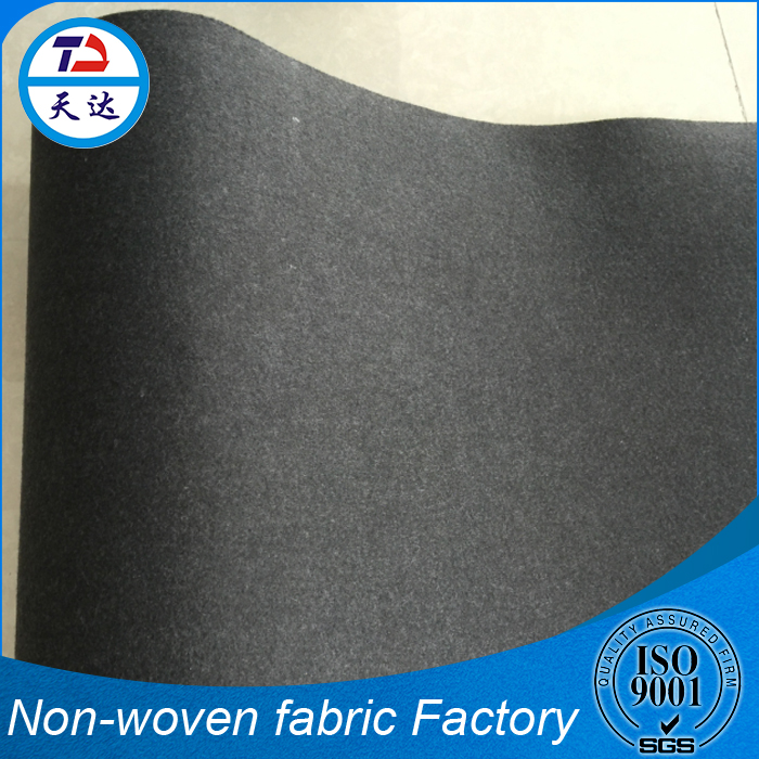 Cheap Needle-Punched 100 To 2000g Leather Backing Nylon Nonwoven Fabric