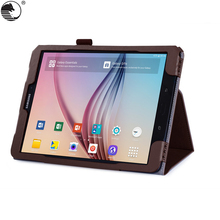 9.7 inch PU Leather Flip Tablet Cover Case For Samsung Tab S3