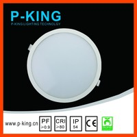 CE High Quality led light IP54 led light panel PC Material High Lumen cheap ceiling lamps