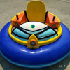 China children outdoor playground round battery bumper car for sale