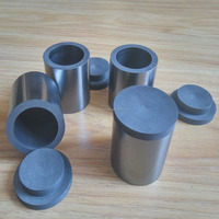 special shaped graphite crucible for gold
