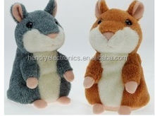 NEW Woody O'time talking hamster,talking hamster plush toy