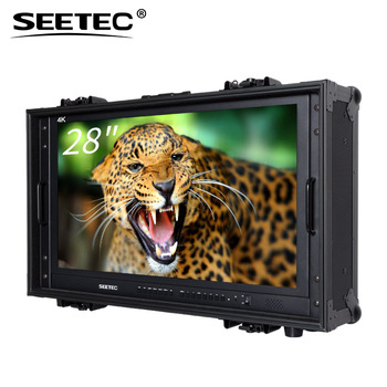 SEETEC broadcast monitor HDMI SDI input suitcase focus assist 4k monitor 30