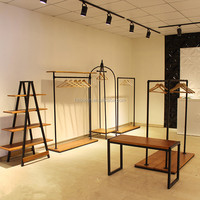 Specially stores customization of stainless steel clothing props/showroom display metal dry airer racks